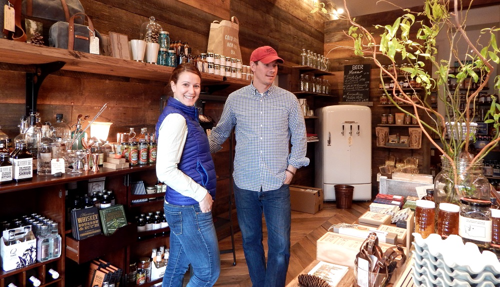Cold Spring General Store Owners Deanna and Craig Muraszewski
