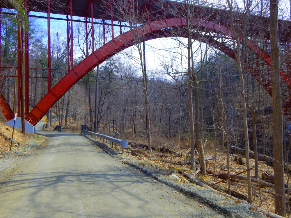The Route 9D Bridge over Indian Brook