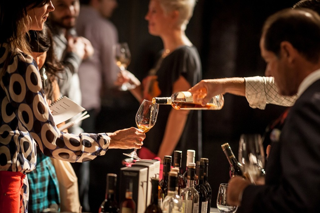 Sherry Fest NYC Pour
