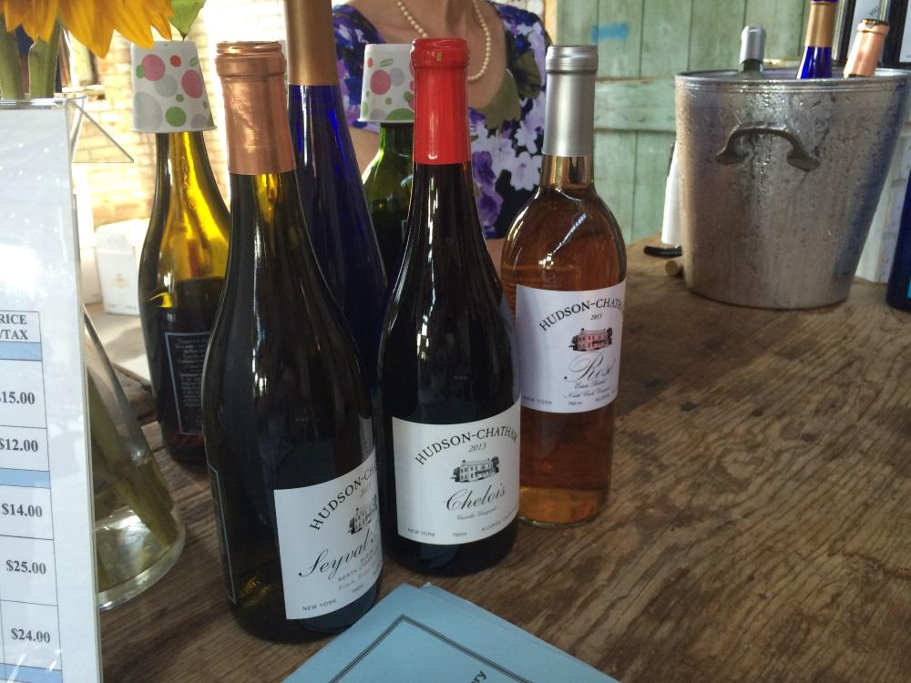 Hudson Chatam Winery Wines