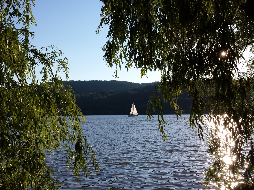 Sail Boat On the Hudson