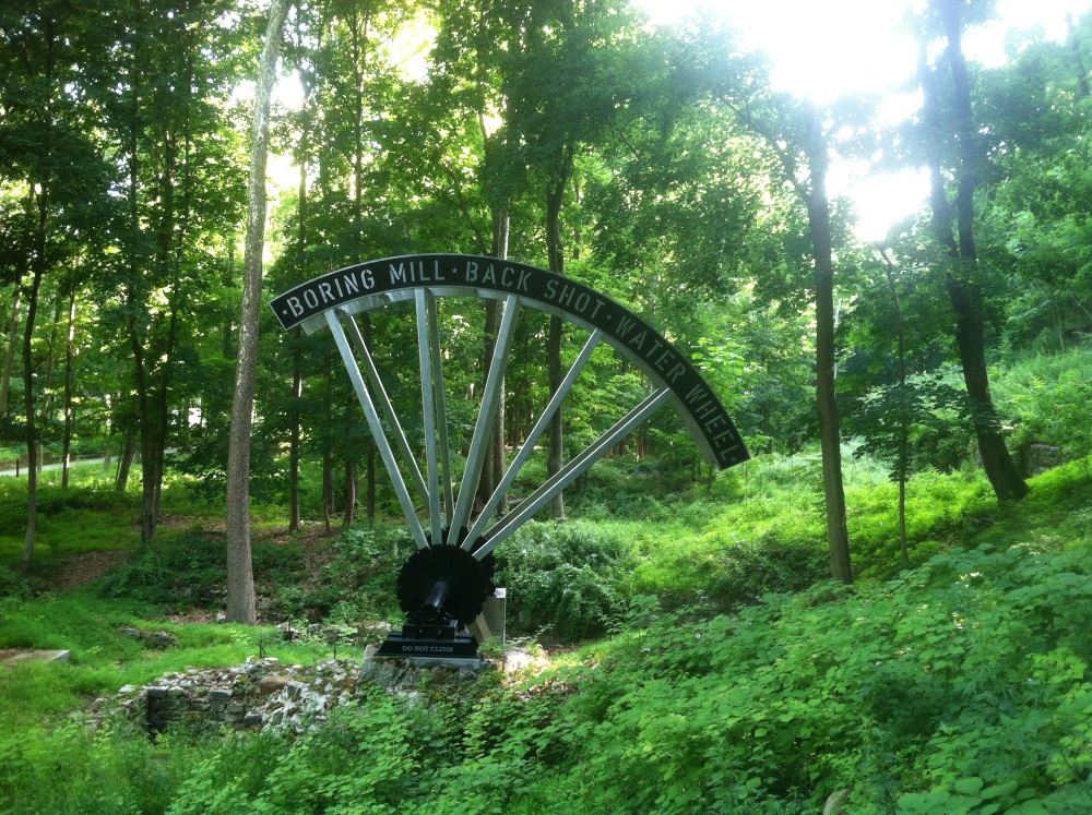 West Point Foundry Preserve Waterwheel