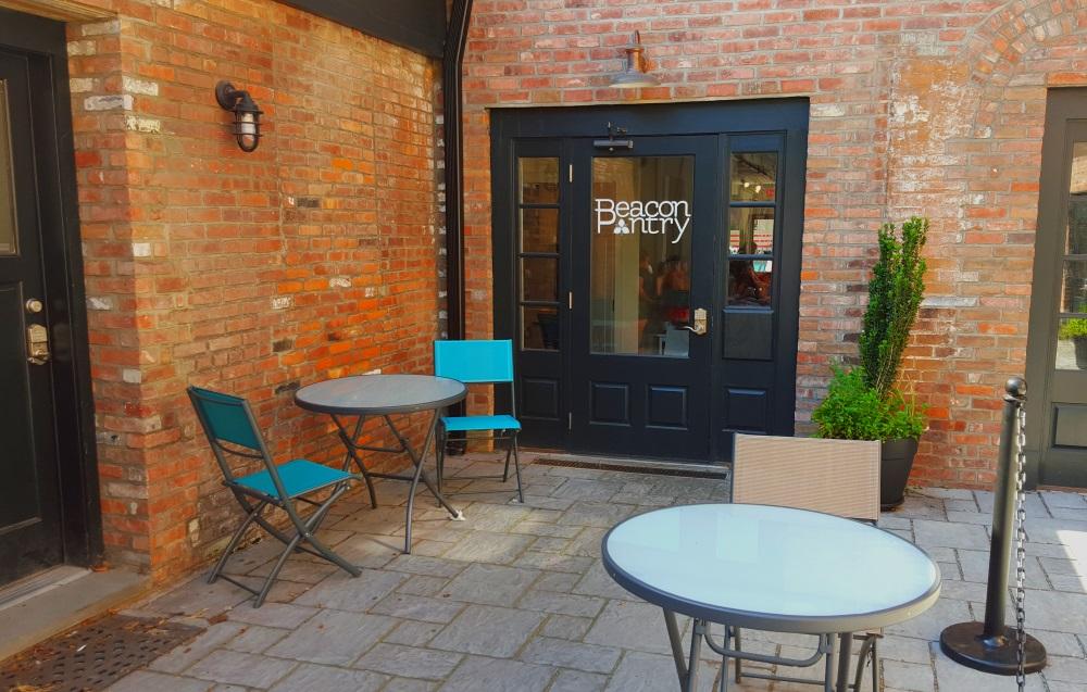 Beacon Pantry Beacon NY Backyard Seating Area