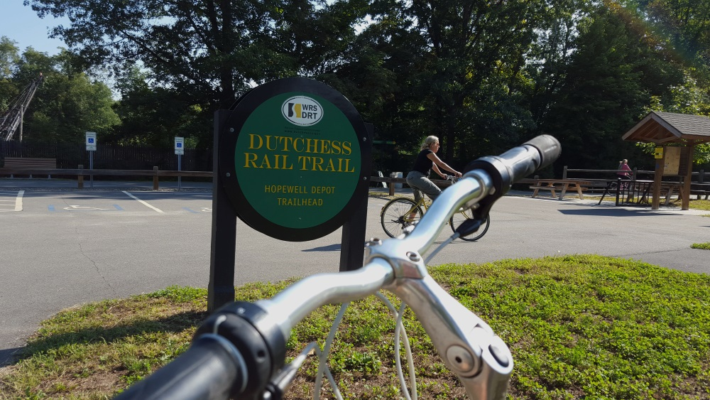 Duchess Rail Trail Hopewell Junction Station Entry