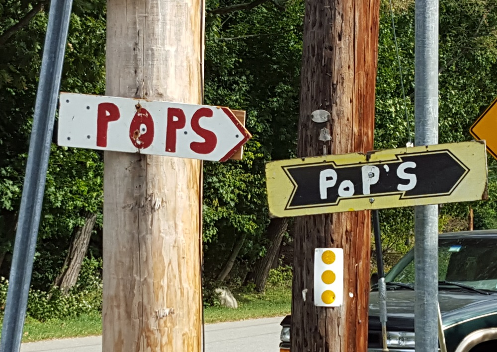 Pop's Barn Sale Route 9D Cold Spring Follow the Signs