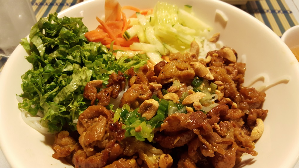 Sauteed Pork with Vermicelli