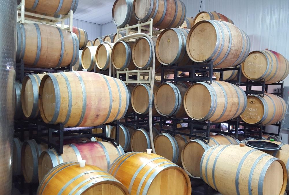 Wine In Cask
