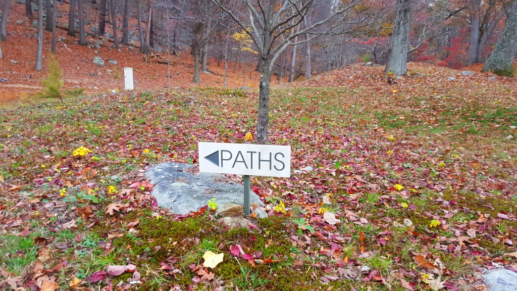 Manitoga Paths Follow the Signs