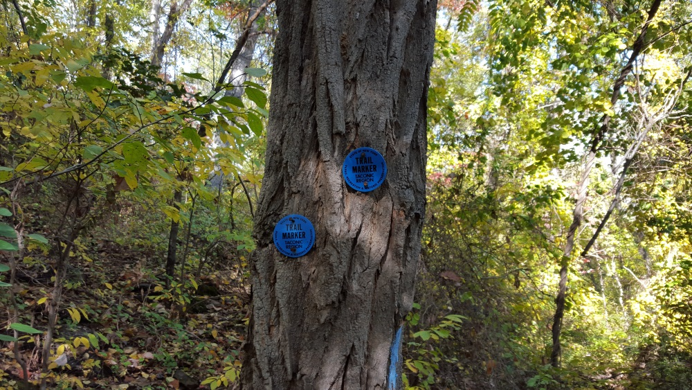 Manitou Point Preserve Trail Markers