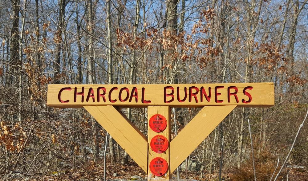Charcoal Burners Trail Sign