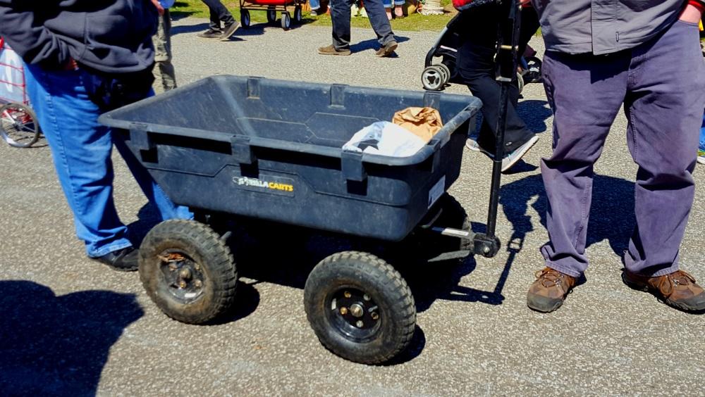 Stormville Flea Market Carts