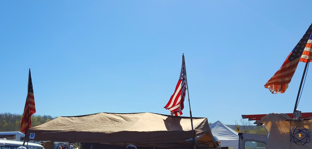 Stormville Flea Market God Bless America
