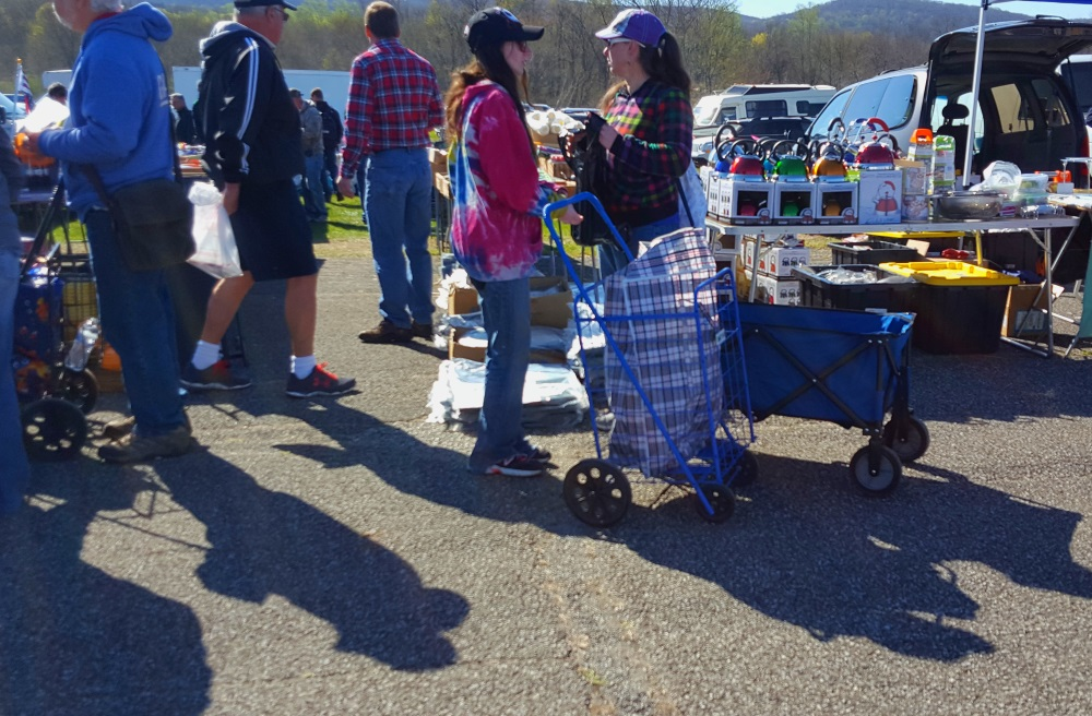 Stormville Flea Market Gotta Have the Right Cart