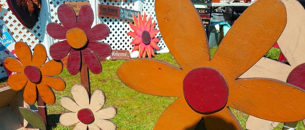 Stormville Flea Market Hand Crafted Flowers