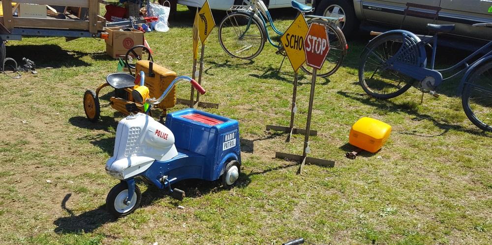 Stormville Flea Market Kids Trikes