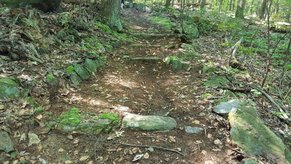 Garrison Prayer Trail Old Steps